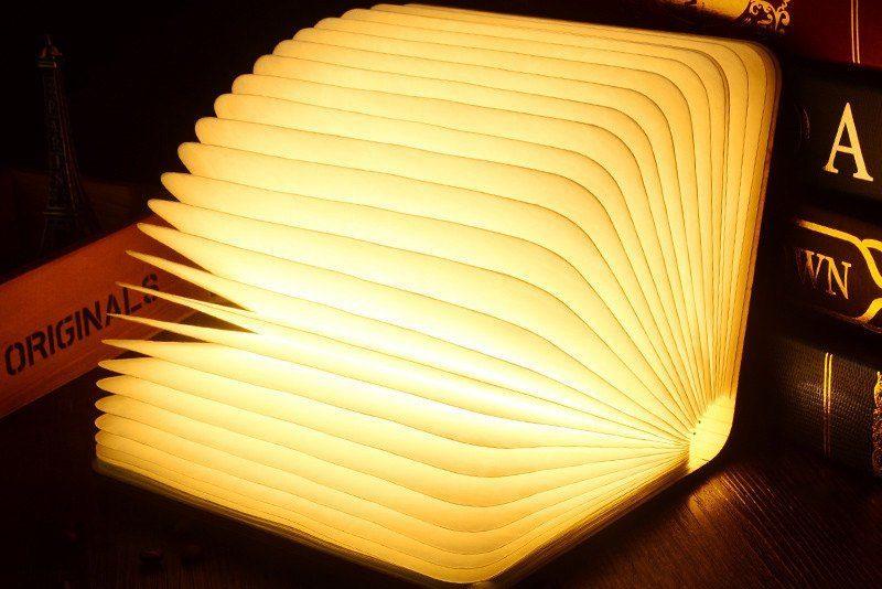 Foldable LED Book Lamp